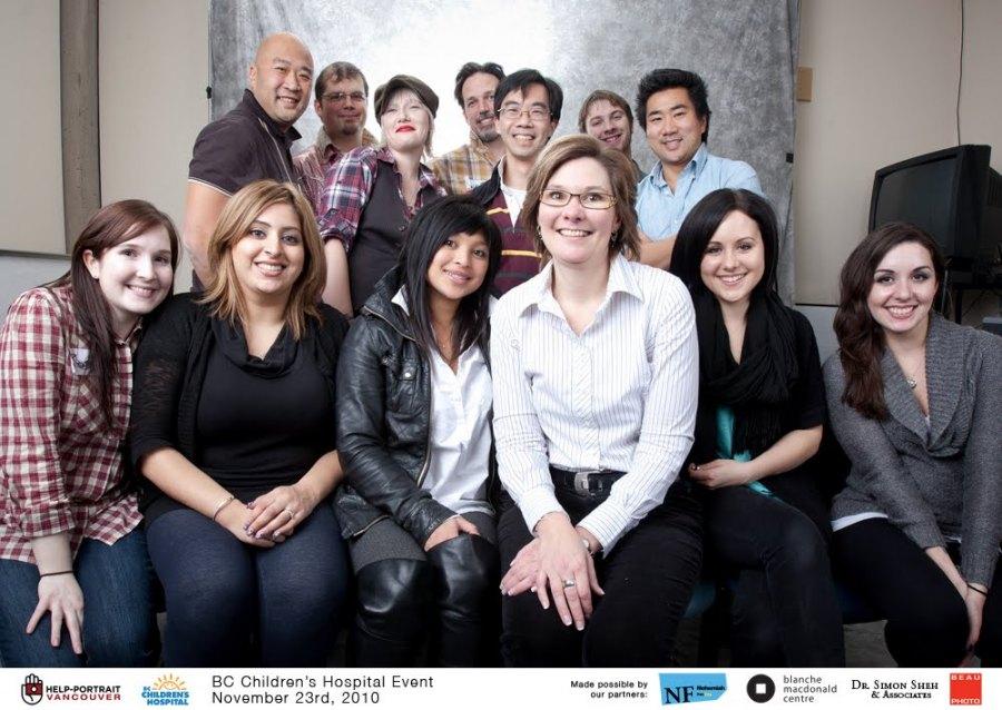Help Portrait Vancouver at BC Children's Hospital