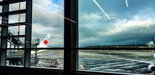 Leaving on a jet plane. #Yvr #aircanada #businesst...